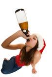 Bebidas espirituosas de la Navidad Imágenes de archivo libres de regalías