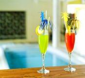 Bebidas exóticas imagen de archivo libre de regalías