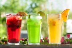 Bebidas frescas fotografia de stock royalty free