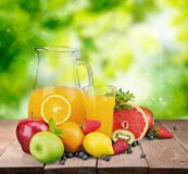 Bebidas frescas Foto de Stock