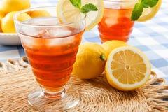 Bebidas frescas del verano Fotografía de archivo