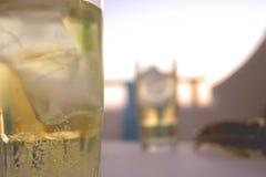 Bebidas geladas Foto de Stock