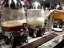 Bebidas infundidas burbujeantes Fotografía de archivo