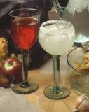Bebidas mezcladas Foto de archivo