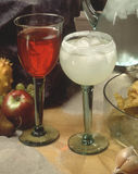 Bebidas misturadas Foto de Stock