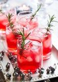 Bebidas para o Natal imagens de stock