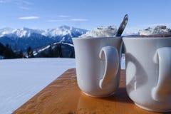 Bebidas quentes Fotografia de Stock