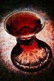 Bebidas quentes cerâmicas chinesas vermelhas do copo de chá Fotos de Stock Royalty Free