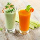 Bebidas saudáveis Imagens de Stock