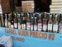 Bebidas típicas. Imagen de archivo libre de regalías