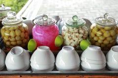 Bebidas tradicionais do Javanese de Wedang Ronde Fotos de Stock Royalty Free
