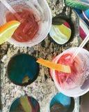 Bebidas tropicales Foto de archivo