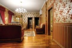 bebodd multiroom för lägenhetbild arkivbilder