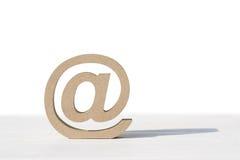 Bebost e-mailsymbool Stock Afbeeldingen