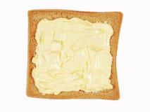Beboterd brood royalty-vrije stock fotografie