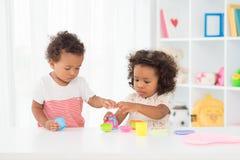 Bebés lindos Foto de archivo libre de regalías