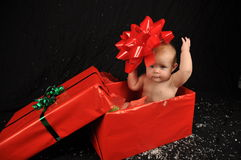 Bebê do Natal Fotografia de Stock Royalty Free