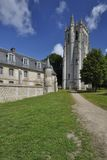 Bec Abbey, Normandy, France Stock Image