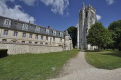 Bec Abbey, Normandy, France Royalty Free Stock Photo