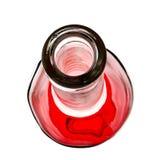 Bec de bouteille de vin Images libres de droits