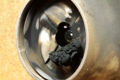 Bec de brûleur à mazout Image stock