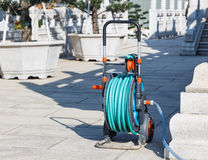 Bec de tuyau de jardinage de l'eau Images libres de droits