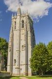 BEC-Hellouin della torre della st Nicolas Immagini Stock