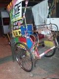 Beca penyambung nyawa. Indonesia peoples Transportation Stock Photo