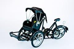 Becak, rickshaw, pedicab isolated Stock Photography