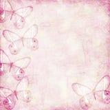 Becakground romántico del grunge en rosa Fotos de archivo