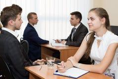 became hysterical interview job one them Στοκ φωτογραφίες με δικαίωμα ελεύθερης χρήσης
