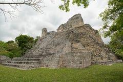 Becan考古学站点在墨西哥 库存图片