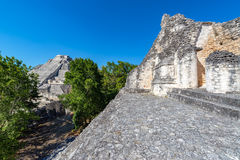 Becan Ruins Pyramids View Royalty Free Stock Images