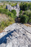 Becan Ruins Vertical View Royalty Free Stock Photography