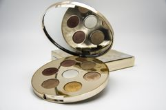Becca Cosmetics-make-updoos Stock Afbeeldingen