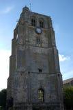 BECCLES, SUFFOLK/UK - 23. MAI: St- Michael` s GemeindeKirchenglocke T lizenzfreie stockbilder