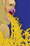 Becco di arte della Tailandia Immagine Stock Libera da Diritti