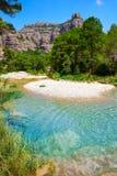 Beceite river Ulldemo in Teruel Spain. At Matarrana area royalty free stock photography