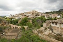 Beceite. In Teruel, Aragon, Spain Stock Images