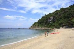 Bech острова Дао Koh Стоковое Изображение