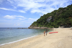 Bech of Koh Tao Island Stock Image