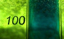 Becher 100 Lizenzfreies Stockbild