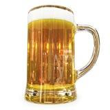 Becher Bier stock abbildung