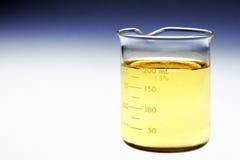 Becher Biokraftstoff Stockfoto