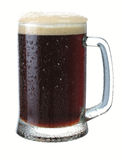 Becher dunkles Bier Lizenzfreie Stockbilder
