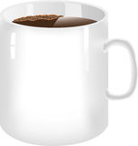 Becher Kaffee Stockbild