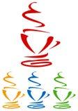 Becher Kaffee Stockbilder