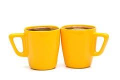 Becher Kaffee Lizenzfreies Stockbild