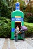 Becherovka a Karlovy Vary Fotografia Stock