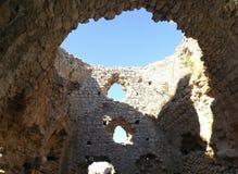 Bechin i Milas Turkiet Arkivbild